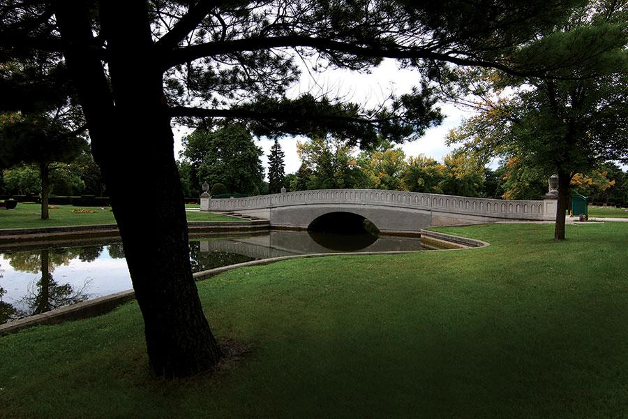 Westlawn Cemetery Pond